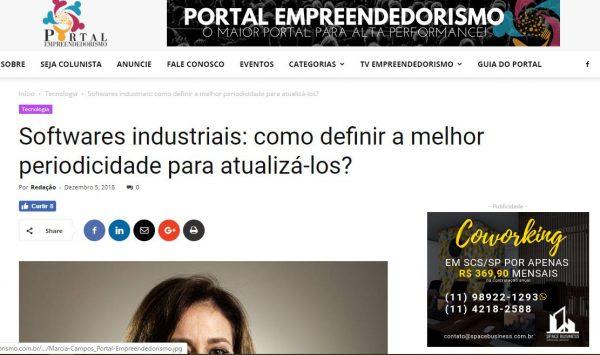 Recorte matéria Portal Empreendedorismo